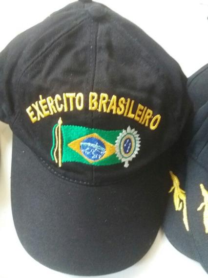 Boné Bordado Exército Brasileiro
