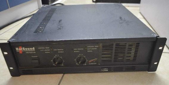 Amplificador De Potência Marca Hot Sound 5.0. 2ohms