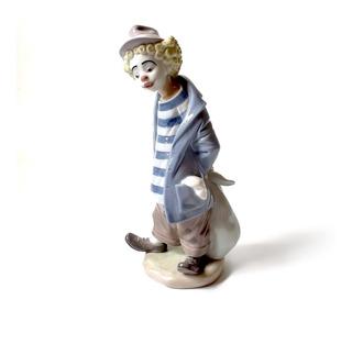 Porcelana Lladro 7602 Payasito Contemplativo - Excelente