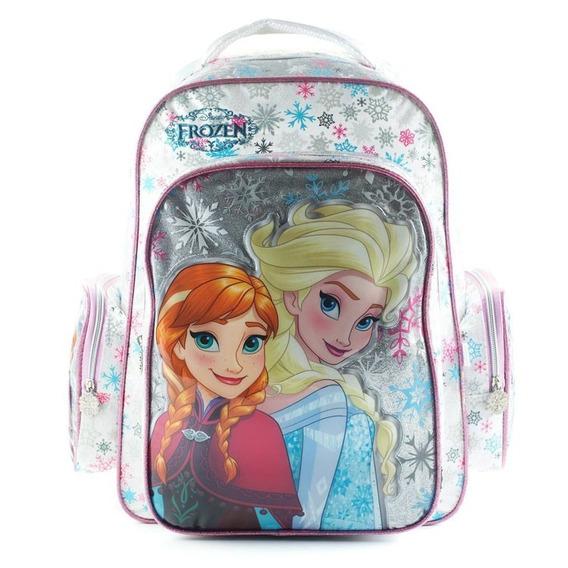 Mochila Espalda Frozen Disney 18 Pulgadas Original Oferta !!