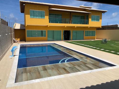 Casa Com 5 Quartos, Piscina, 4 Vagas, 600 M2 De Terreno
