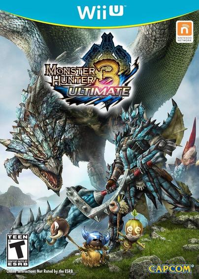Monster Hunter 3 Ultimate Wii U - Novo