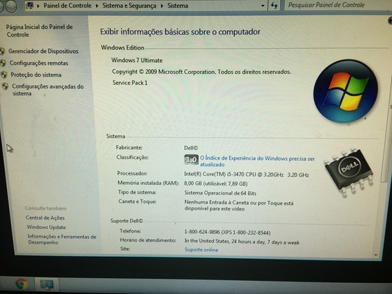Pc Dell Optiplex 9010 Desktop Core I5 -8gb -hd Seagate 250gb