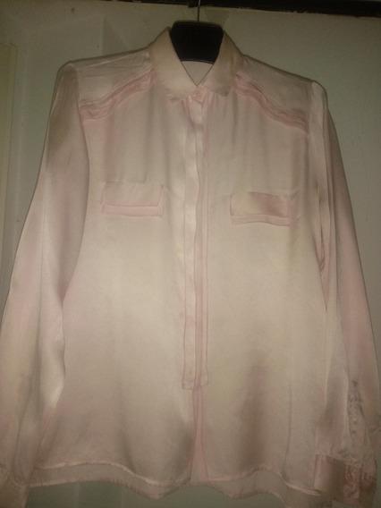 Camisa Cardon De Seda Natural Usada