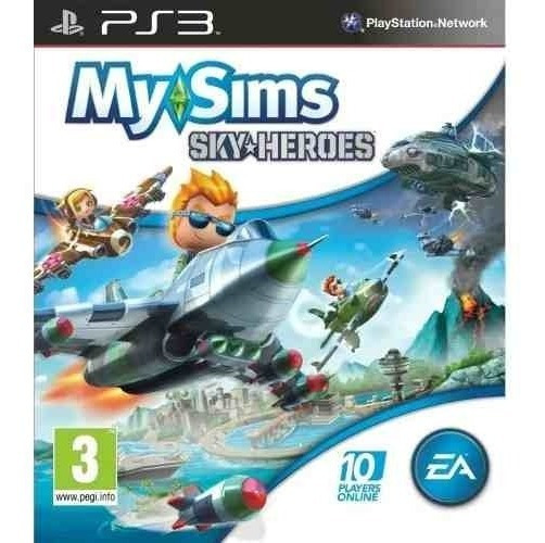 Jogo My Sims - Sky Heroes - Ps3