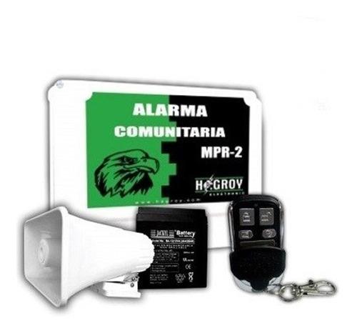 Kitt Alarma Vecinal Cuadra Comunitaria Inalámbrico Mpr-2