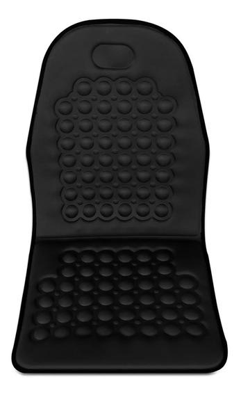 Kit C/ 4 Capas Assento Massageador Encosto Carro Automotivo