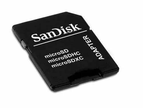 Adaptador Memória Sandisk Micro Sd