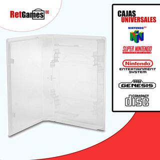 Cajas Universales Video Juegos (nes, Snes,n64,sega Genesis)