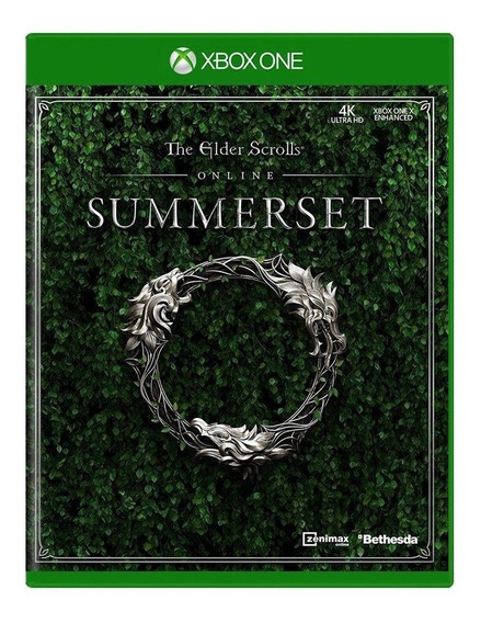 The Elder Scrolls Online Summerset Xbox One Mídia Física
