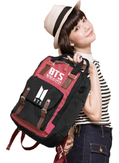 Mochilas Bts Varios Modelos Galaxia Rosada K-pop Corea