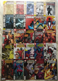 The Amazing Spider-man Lote De 44 Cómics En Español