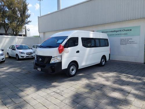 Imagen 1 de 8 de Nissan Urvan 2020 2.5 15 Pas Amplia Aa Mt