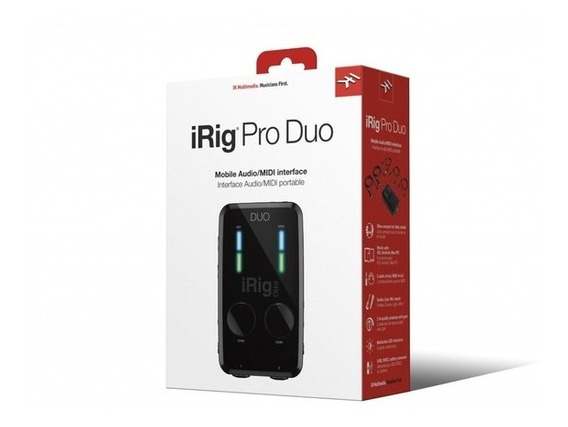 Interface Ik Multimedia Irig Pro Duo Universal 2 Canais