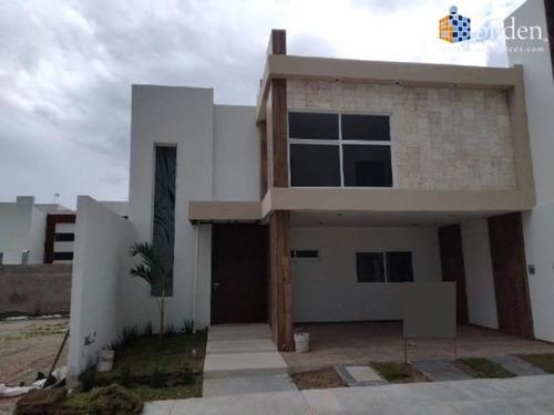 Imagen 1 de 12 de Casa Sola En Venta Frac. Los Nogales Residencial