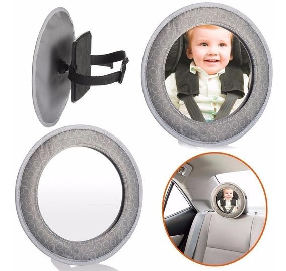 Espelho Retrovisor Para Bebê Banco De Trás Traseiro Carro