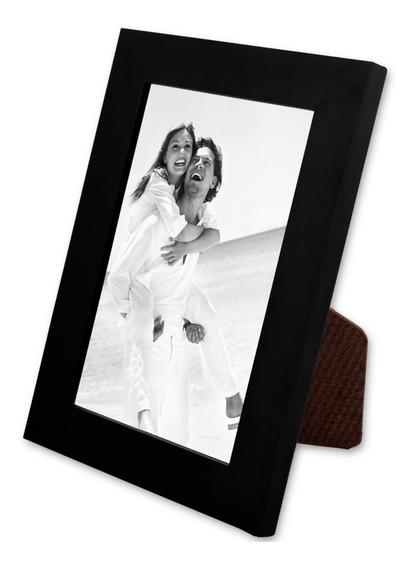 10 Uni Porta Retrato Liso Laqueado Moldura 15x21 C/ Vidro