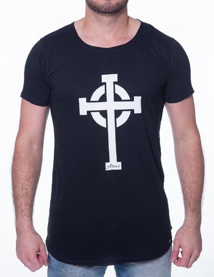 Camiseta Longline Arms