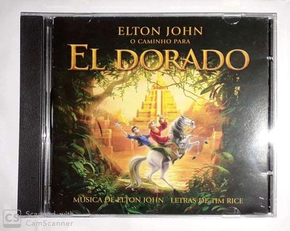 Cd Elton John-o Caminho Para El Dourado (cd Estado De Novo)*