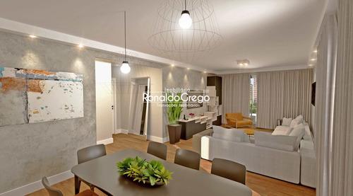 Apartamento Á Venda 3 Dorms, Moema, Sp - R$ 1.86 Mi - V2282