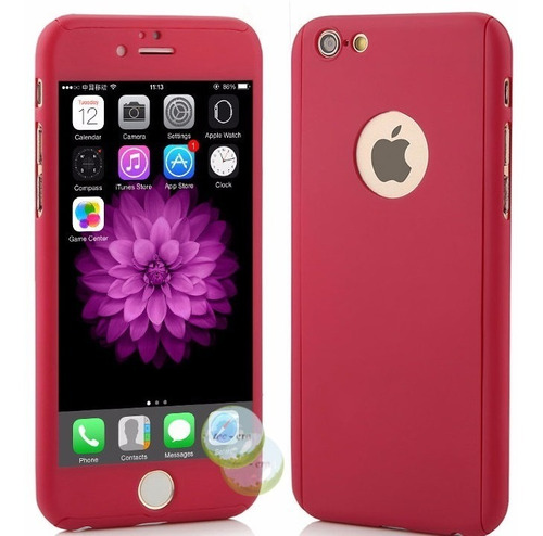 Estuche Protector Case 360 iPhone 5 iPhone SE + Cristal