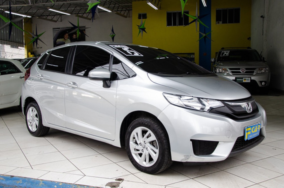 Honda Fit Lx 2015 Automatico,completo,troco!