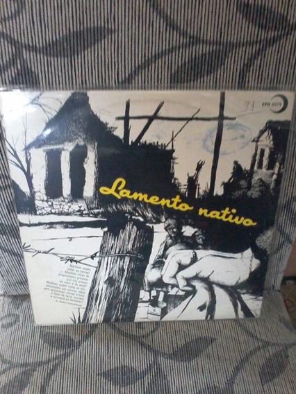 Lp Lamento Nativo 1982