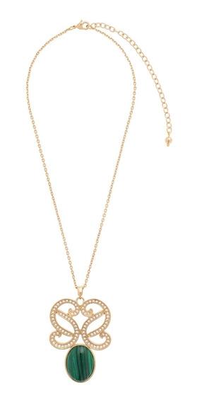 Nice® Collar Esme 4 Baños De Oro 18k
