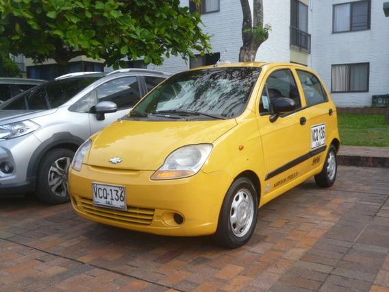 Taxi Chevrolet Spark 2009 Con Aire Solo A Gasolina
