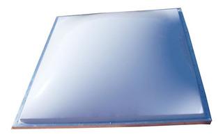 Domos Claraboia Telhado Acrilico Branco Leitoso 850x850mm