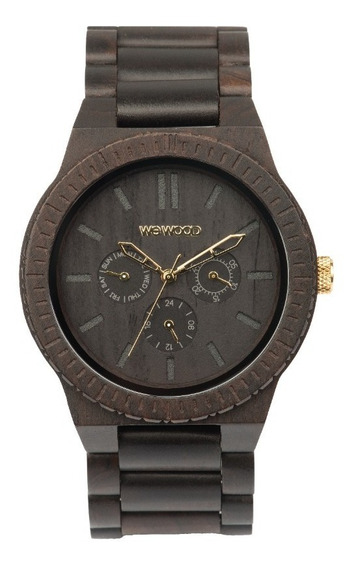 Relógio, Wewood, Kappa Black/gold