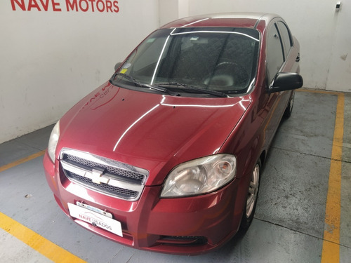 Chevrolet Aveo Ls 1.6 Con Gnc 2011 Bordo Jrv