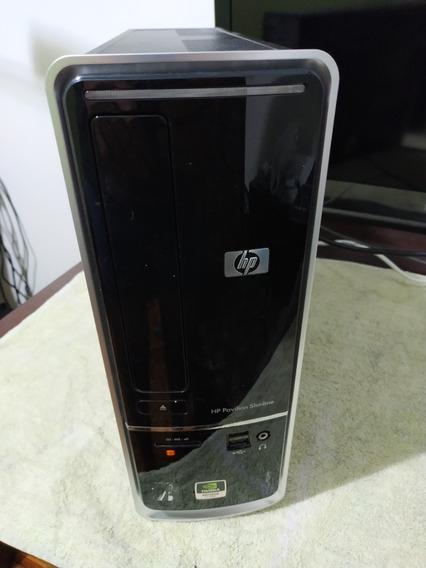 Computador Hp Slimline Dual Core 4gb Memória