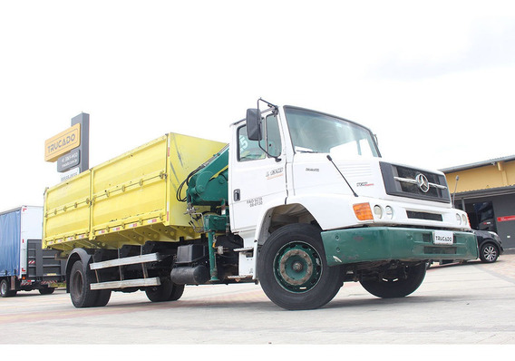 Mb 1318 Toco 2012 Munck 7.5 Caçamba = Mercedes Vw Cargo