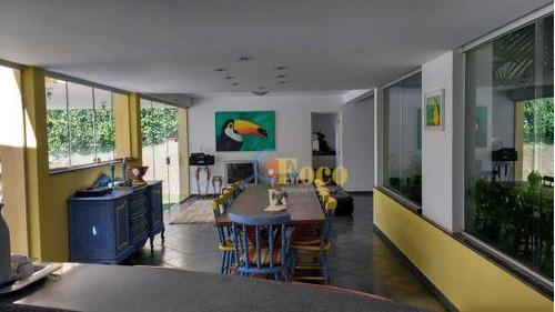 Chácara Residencial À Venda, Condomínio Capela Do Barreiro, Itatiba - Sp. - Ch0143