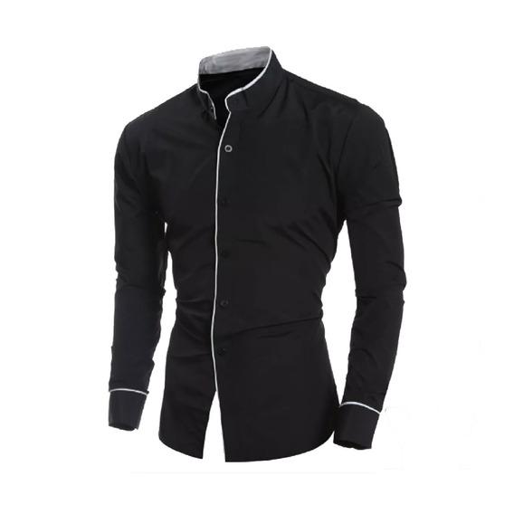 Camisa Caballero Slim Fit #73 Denlinea