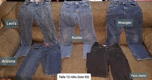 5 Pantalones Talla 12 Para Nino Mercado Libre
