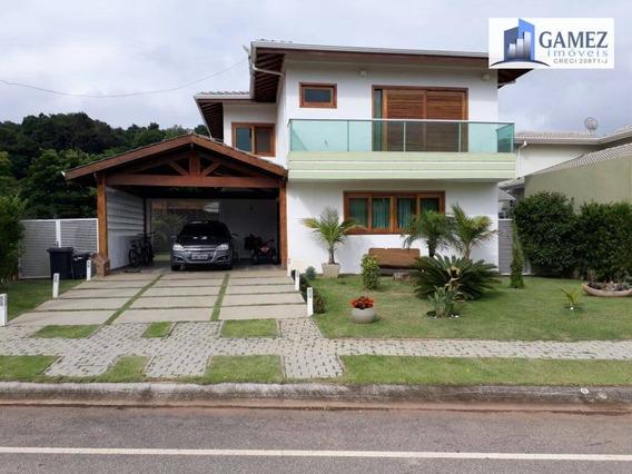 Casa Residencial À Venda, Condomínio Fechado, Atibaia. - Ca0835