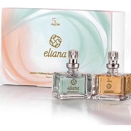 Kit, Eliana/eliana Glamour Por Jequiti A Marca Dos Famosos