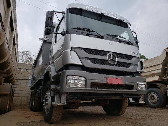 Mercedes-bens Axor 3131 6x4 Ano 2014/2014 Rossetti Hardox