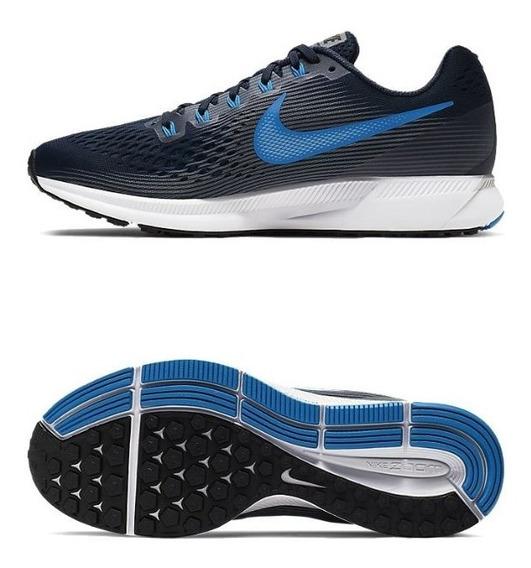 Nike Zoom Pegasus 35 Hombre - Zapatillas Azul marino en ...