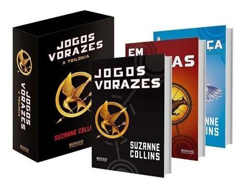 Box Trilogia Jogos Vorazes (3 Livros)