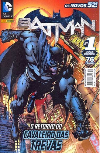 Batman 1 Dc Comics Panini 2012