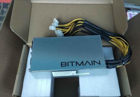 Fuente De Poder Bitmain Apw3+ L3 +/s9/t9/d3,1200 W/1600 W