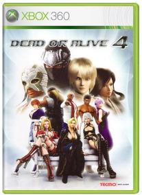 Dead Or Alive 4 Xbox 360 Original Frete R$12