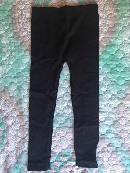 Leggings Negros De Niña American Clothing Co Talla M