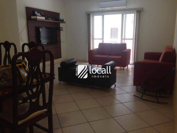 Apartamento Com 2 Dormitórios À Venda, 124 M² Por R$ 350.000 - Higienópolis - São José Do Rio Preto/sp - Ap1689