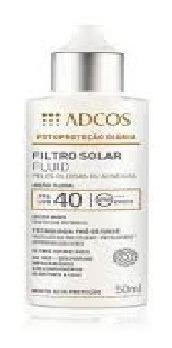 Imagem 1 de 1 de Filtro Solar Tonalizante Fps 40 Fluid 50ml - Adcos