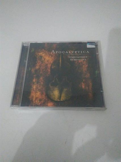 Cd Apocalyptica Inquisition Symphony Usado Em Perfeito Estad