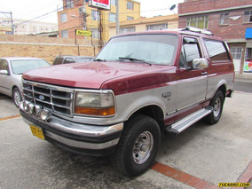 Ford Bronco Xlt Mt 4x4